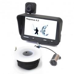Подводная камера Пиранья 4.3 - 2с с функцией записи видео (видеоудочка)