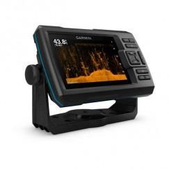 Эхолот Garmin Striker Plus 5cv, 5 дюймов (сканер ClearVü, GPS)