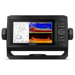 Эхолот Garmin EchoMap Plus 62cv UHD, 6 дюймов (сканер ClearVü, GPS)