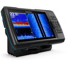 Эхолот Garmin Striker Plus 7sv, 7 дюймов (сканер ClearVü, сканер SideVü, GPS)