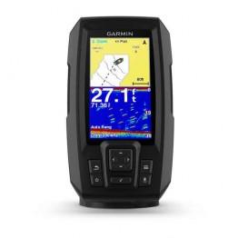 Эхолот Garmin Striker Plus 4cv, 4.3 дюйма (сканер ClearVü, GPS)