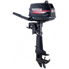 Подвесной 2-х тактный бензиновый лодочный мотор Hangkai T6.0HP