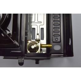 Плита настольная газовая Happy Home BDZ-155-AK с пьезоподжигом и переходником (керамика)