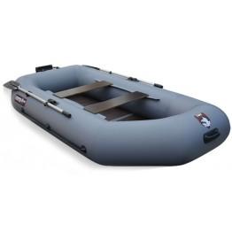 Надувная 2-х местная ПВХ лодка Hunter 280 T New