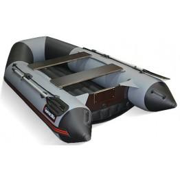 Надувная 2-х местная ПВХ лодка Hunter 290 ЛКА (НДНД)
