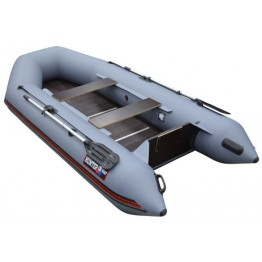 Надувная 3-х местная ПВХ лодка Hunter 320 Л