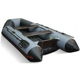 Надувная 3-х местная ПВХ лодка Hunter 320 ЛКА (НДНД)