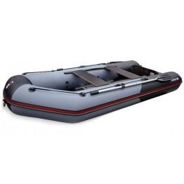 Надувная 4-х местная ПВХ лодка Hunter 340
