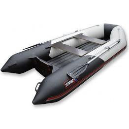 Надувная 4-х местная ПВХ лодка Hunter 345 ЛКА (НДНД)