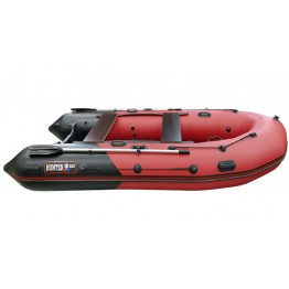 Надувная 4-х местная ПВХ лодка Hunter 350 ПРО (НДНД)