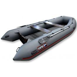 Надувная 5-местная ПВХ лодка Hunter 390 А (НДНД)
