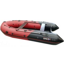 Надувная 6-местная ПВХ лодка Hunter 420 ПРО (НДНД)
