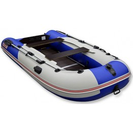 Надувная 3-местная ПВХ лодка Hunter Стелс 335