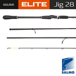 Спиннинг SALMO ELITE JIG 28 2,30м, тест 7-28 г, уголь IM7