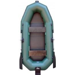 Надувная 2-ух местная ПВХ лодка Жерех 265 транец