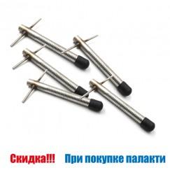 Комплект ввертышей СТЭК для крепления палатки 5 шт., неподвижная ручка (при покупке палатки)