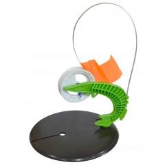 Жерлица зимняя Щука оснащенная на диске 190 мм (катушка 85 мм)