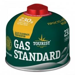 Резьбовой газовый баллон Standard TBR-230, 230 гр