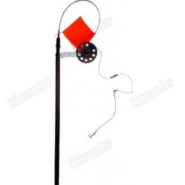 Жерлица зимняя Manko оснащенная на стойке (катушка 63 мм)