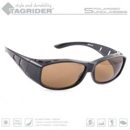 Очки поляризационные Tagrider N06-1 BROWN в чехле