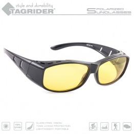 Очки поляризационные Tagrider N06-3 YELLOW в чехле