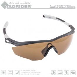 Очки поляризационные Tagrider N10-1 BROWN в чехле