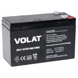 Аккумулятор свинцово-кислотный Volat GB12-7 12V, 7Ah