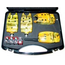 Комплект сигнализаторов поклевки с пейджером GLOBE TLI-04 (3+1) 07