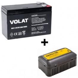 Зарядное устройство Вымпел 05 + АКБ Volat GB12-7 (при покупке эхолота)