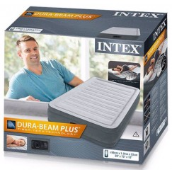 Надувная кровать Intex Dura-Beam Plus 191х99х33см со встроенным насосом 220В (67766)