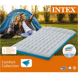 Надувной матрас Intex Camping Mat 193х127х24 см (67999)