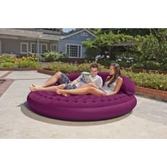 Надувная кровать INTEX DayBed Lounge 191x191x53 см (68881)