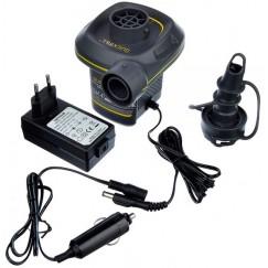 Насос электрический Intex Quick-Fill 66634, 12В/220В адаптер, 3 насадки в комплекте