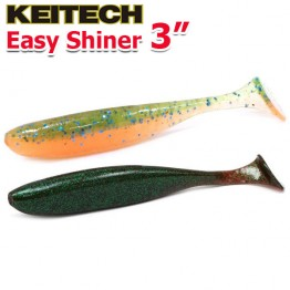"""Виброхвосты Keitech Easy Shiner 3.0"""""""