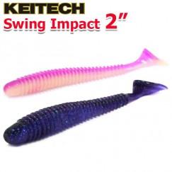 """Виброхвосты Keitech Swing Impact 2.0"""""""
