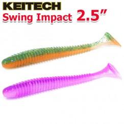 """Виброхвосты Keitech Swing Impact 2.5"""""""