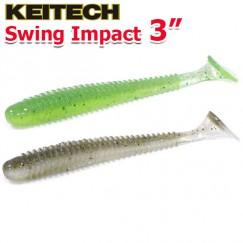 """Виброхвосты Keitech Swing Impact 3.0"""""""