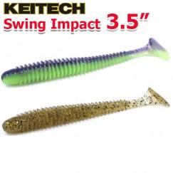"""Виброхвосты Keitech Swing Impact 3.5"""""""