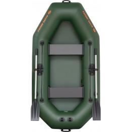 Надувная 2-местная ПВХ лодка Kolibri K-240T (без настила)
