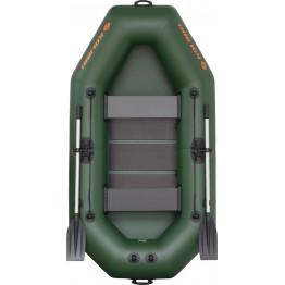 Надувная 2-местная ПВХ лодка Kolibri K-240T (реечный настил)