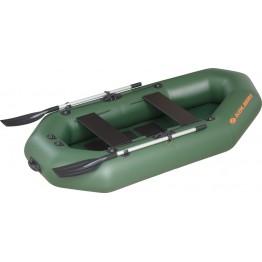 Надувная 2-местная ПВХ лодка Kolibri K-250T (реечный настил)