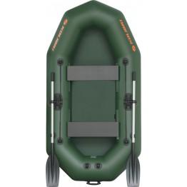 Надувная 2-местная ПВХ лодка Kolibri K-250T (без настила)
