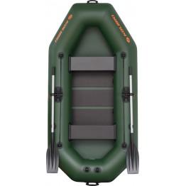 Надувная 2-местная ПВХ лодка Kolibri K-260T (реечный настил)