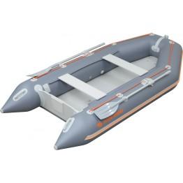 Надувная 2-местная ПВХ лодка Kolibri KM-260 (надувной пол AirDeck)