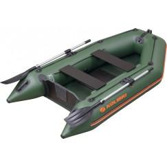 Надувная 2-местная ПВХ лодка Kolibri KM-280 (пол-книжка)