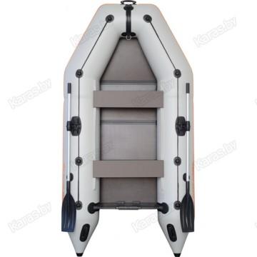 Надувная 3-местная ПВХ лодка Kolibri KM-300 (пол-книжка)