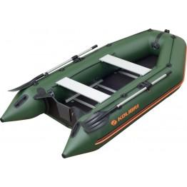 Надувная 3-местная ПВХ лодка Kolibri KM-300D (фанерный пайол)
