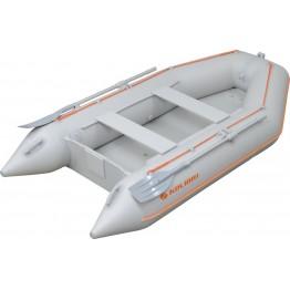 Надувная 4-местная ПВХ лодка Kolibri KM-330 (надувное дно AirDeck)
