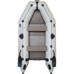 Надувная 4-местная ПВХ лодка Kolibri KM-330 (пол-книжка)