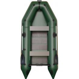 Надувная 4-местная ПВХ лодка Kolibri KM-330 (реечный настил)